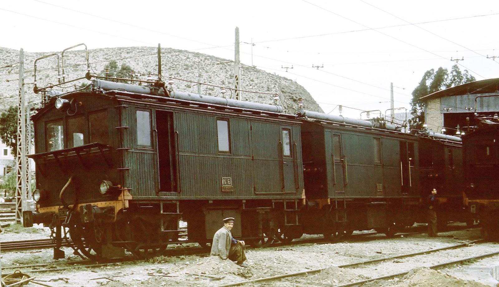 Locomotoras Renfe 1 a 7
