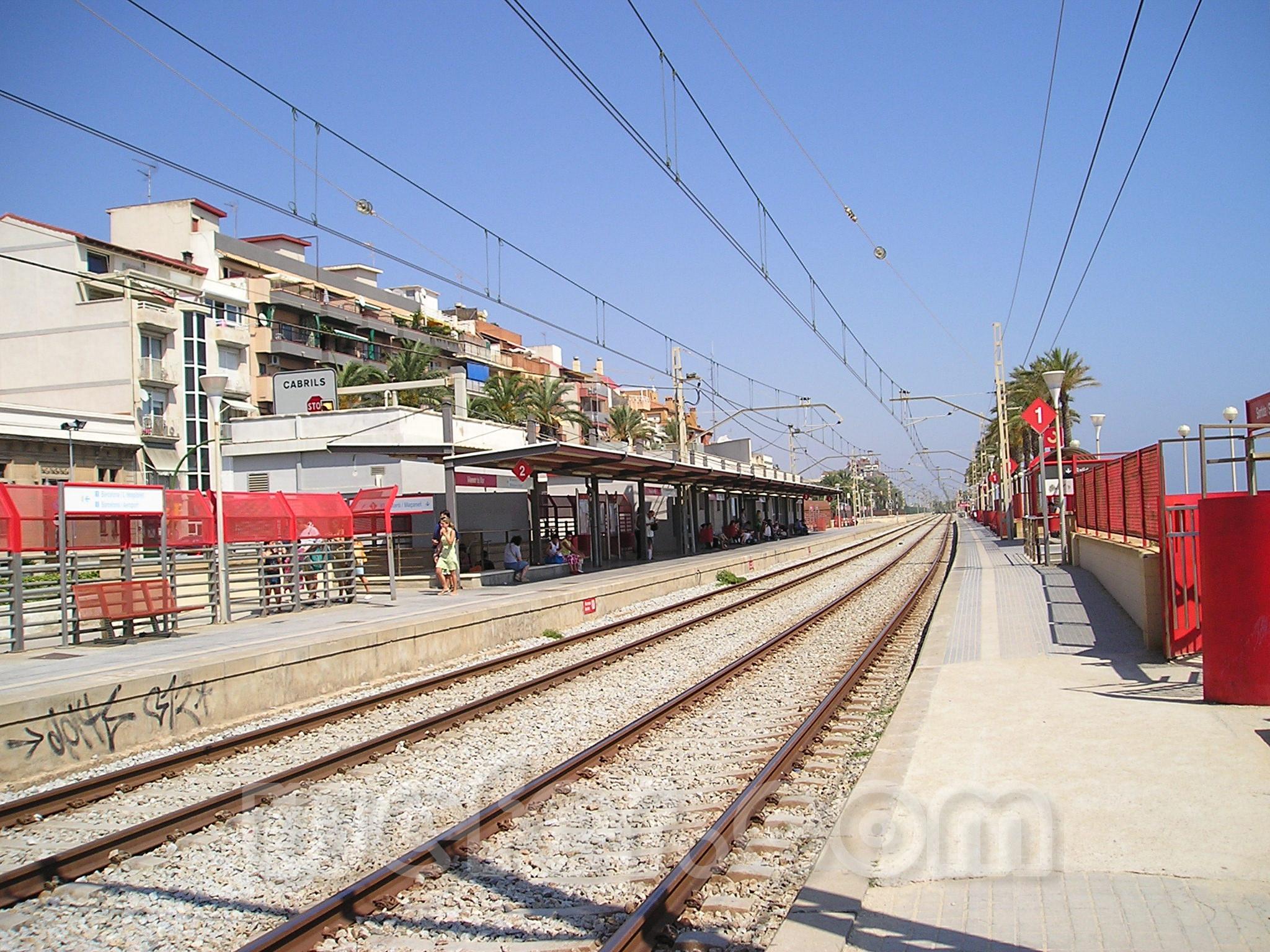 Renfe / ADIF: Vilassar de Mar