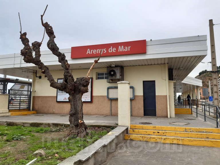 Renfe / ADIF: Arenys de Mar 2021