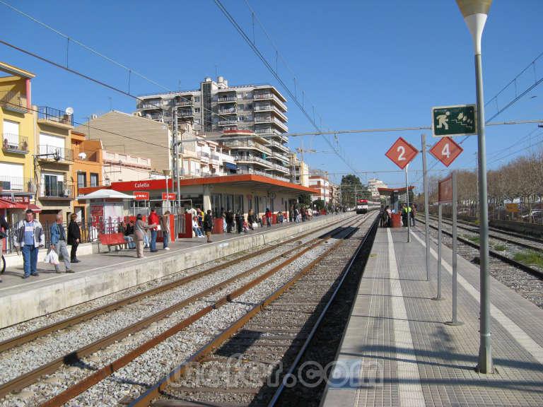 Renfe / ADIF: Calella 2008
