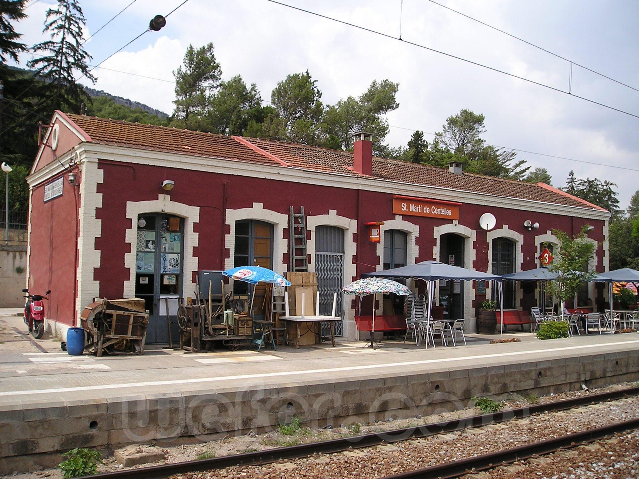 Renfe / ADIF: Sant Martí de Centelles