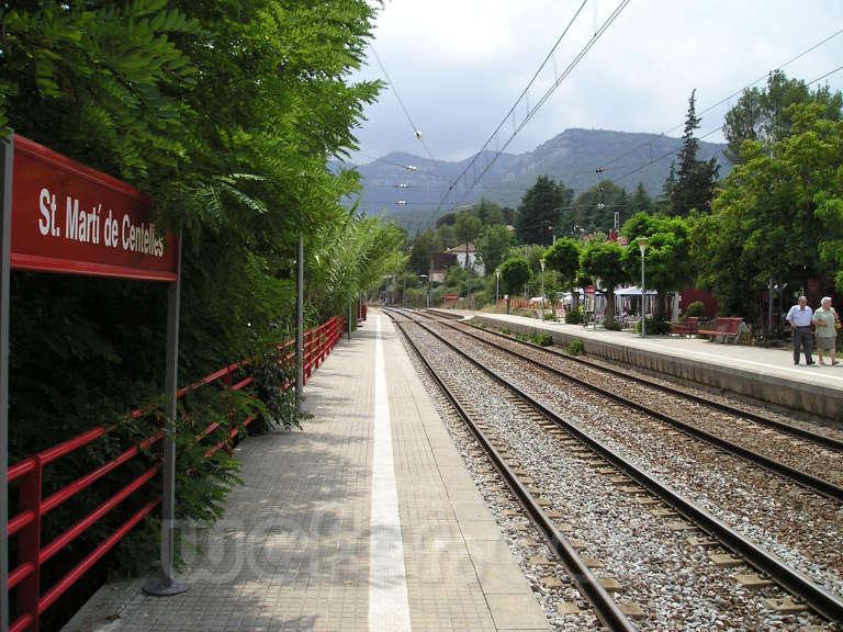 Renfe / ADIF: Sant Martí de Centelles - 2005