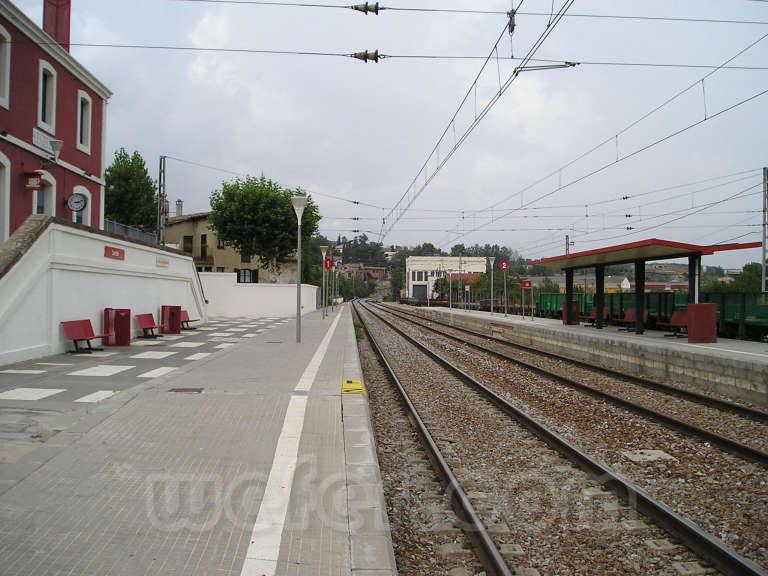 Renfe / ADIF: Centelles - 2005