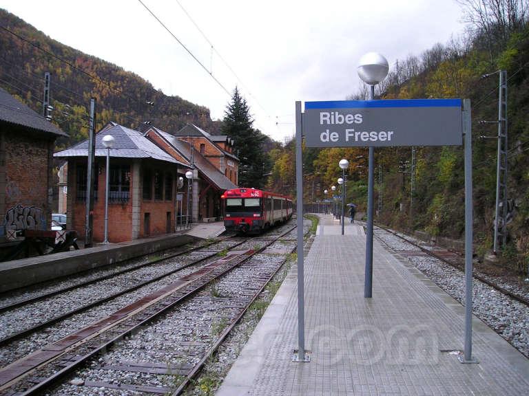 Renfe / ADIF: Ribes de Freser - 2005