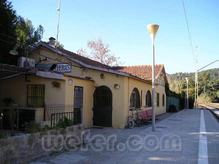 Renfe / ADIF: Sant Miquel de Gonteres - Viladecavalls - 2005