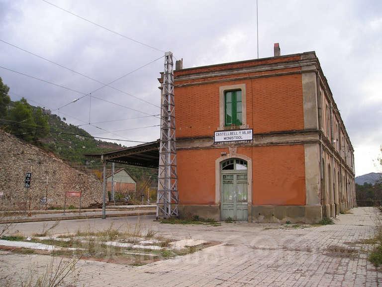 Renfe / ADIF: Castellbell i el Vilar - Monistrol de Montserrat - 2004