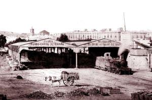 Primera estación de Barcelona