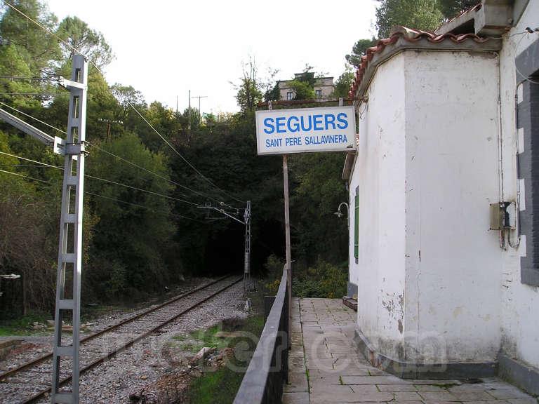 Renfe / ADIF: Seguers - Sant Pere Sallavinera - 2005