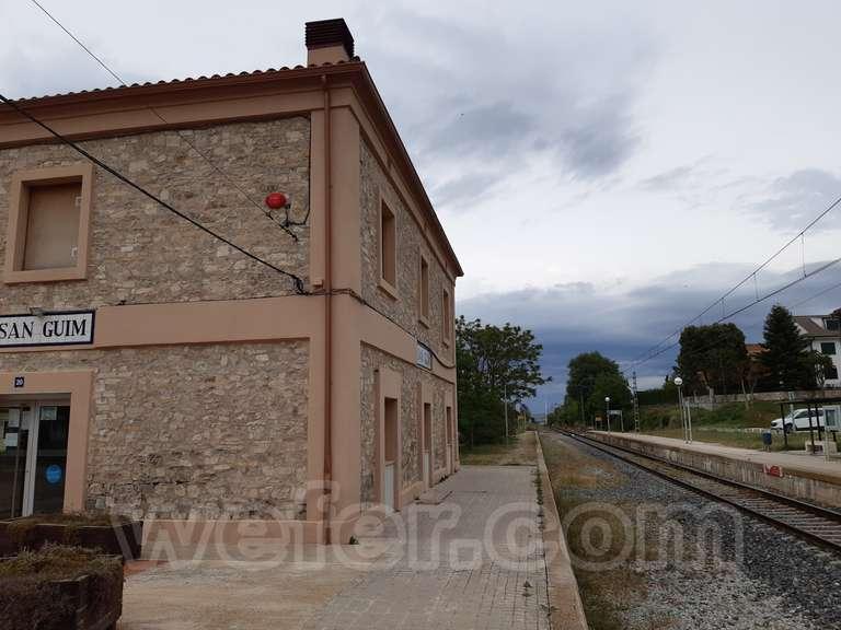 Renfe / ADIF: Sant Guim de Freixenet - 2021