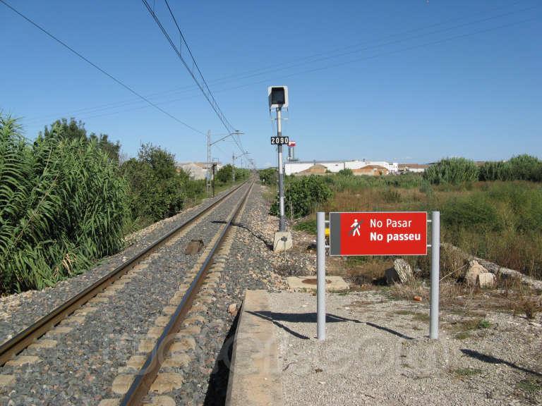 Renfe / ADIF: Golmés - 2008
