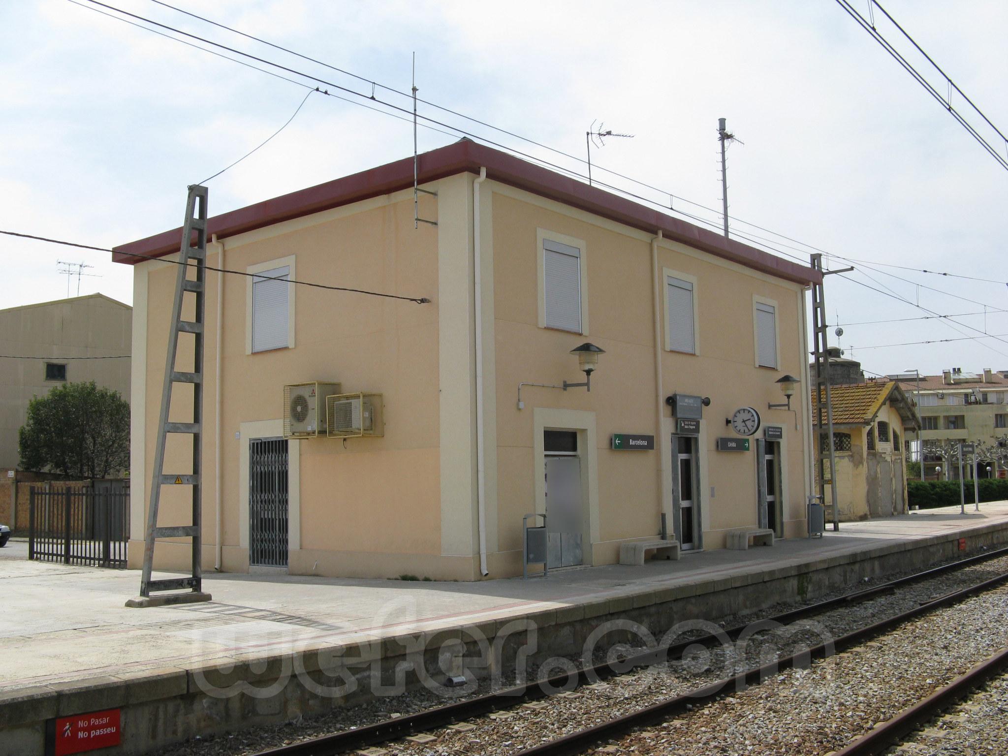 Renfe / ADIF: Bell-lloc d'Urgell