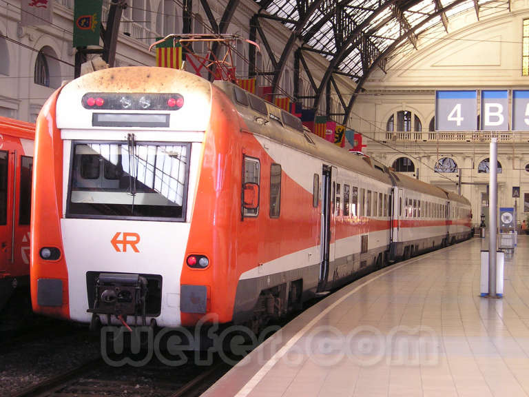 Renfe / ADIF: Barcelona - Estació de França - 2003