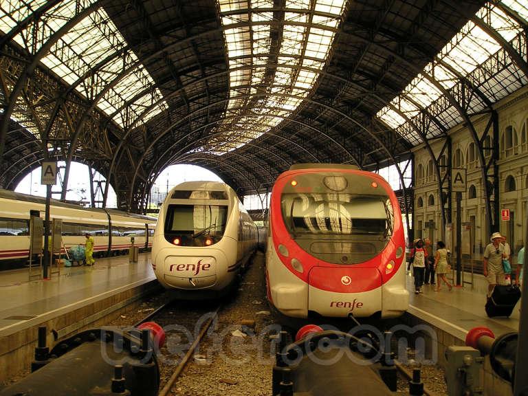 Renfe / ADIF: Barcelona - Estació de França - 2007