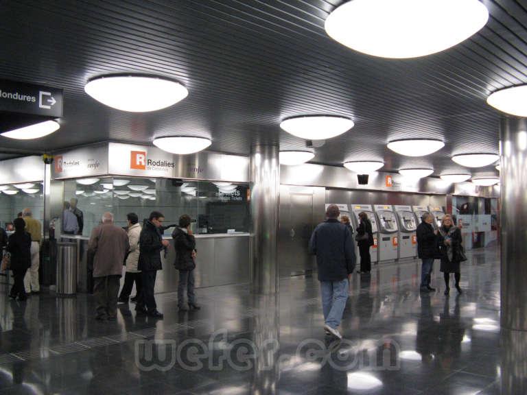 Renfe / ADIF: Barcelona - La Sagrera - Meridiana - 2011