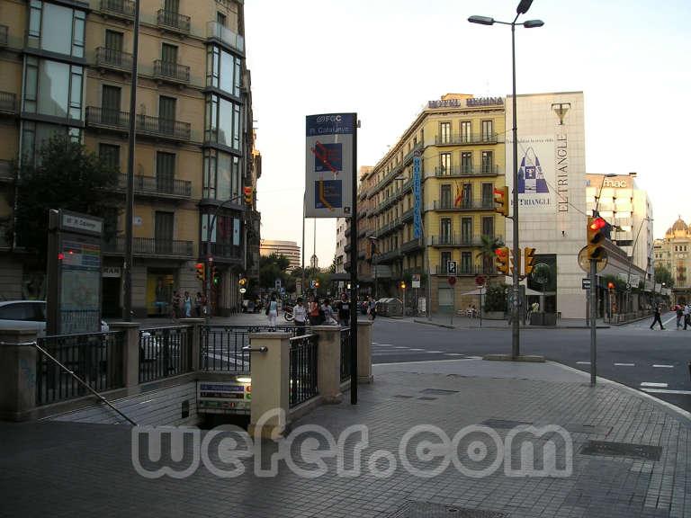 FGC Barcelona - Plaça Catalunya