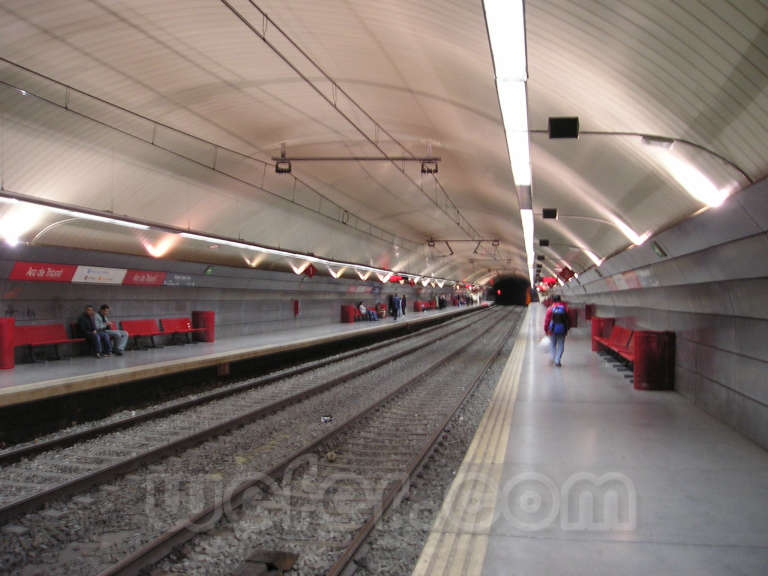 Renfe / ADIF: Barcelona - Arc de Triomf - 2004