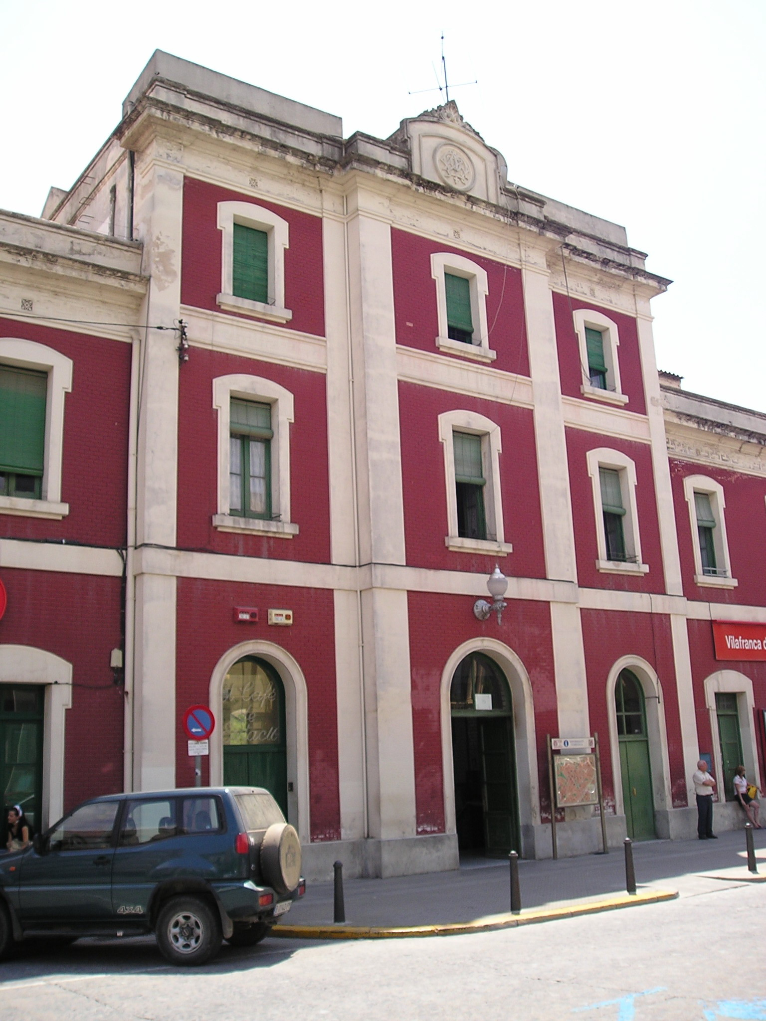 Renfe / ADIF: línea Barcelona / Vilafranca del Penedès / St. Vicenç de Calders