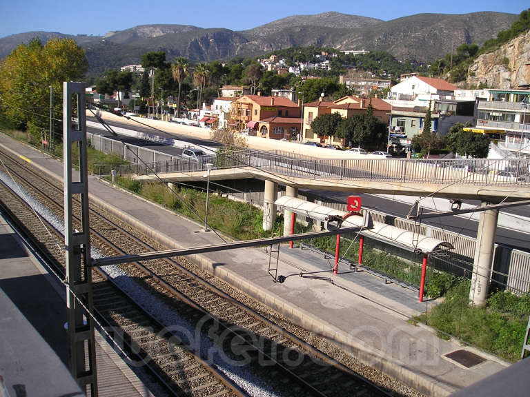 Renfe / ADIF: Platja de Castelldefels - 2005