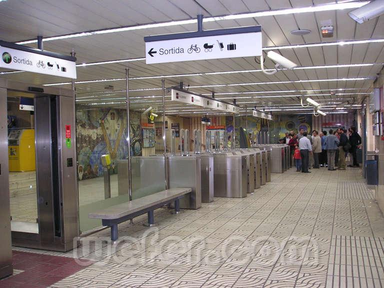 FGC Barcelona Sarrià - Agost 2004