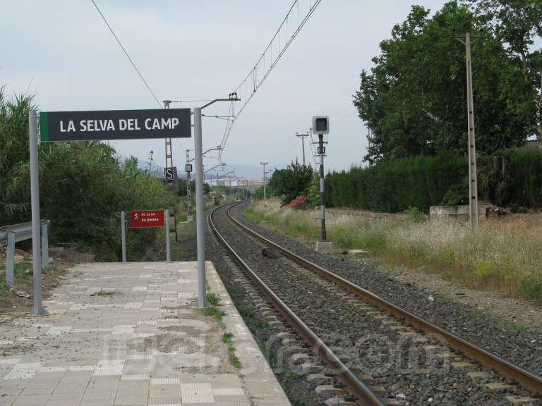 Renfe / ADIF: La Selva del Camp - 2009