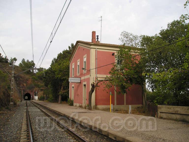 Renfe / ADIF: Duesaigües - l'Argentera - 2007