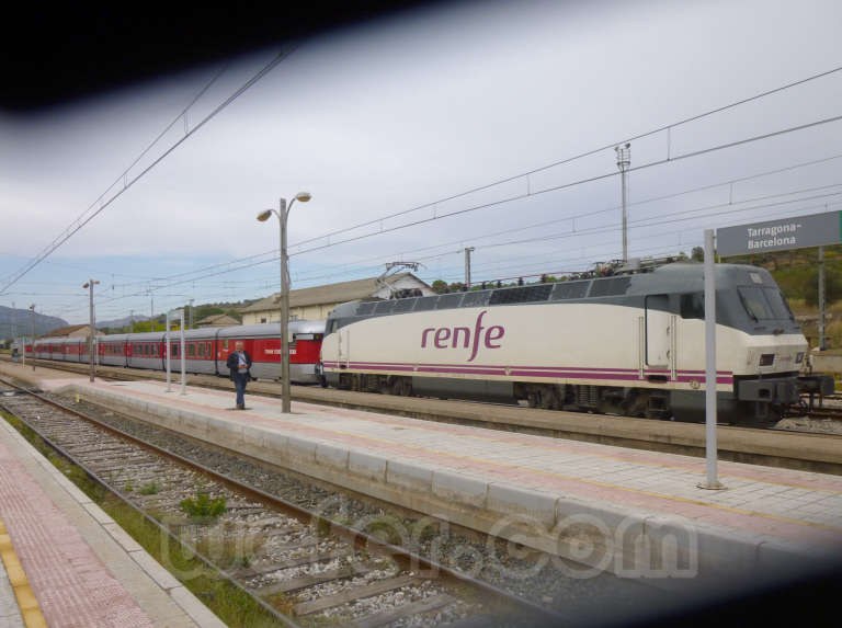 Renfe / ADIF: Móra la Nova - 2015