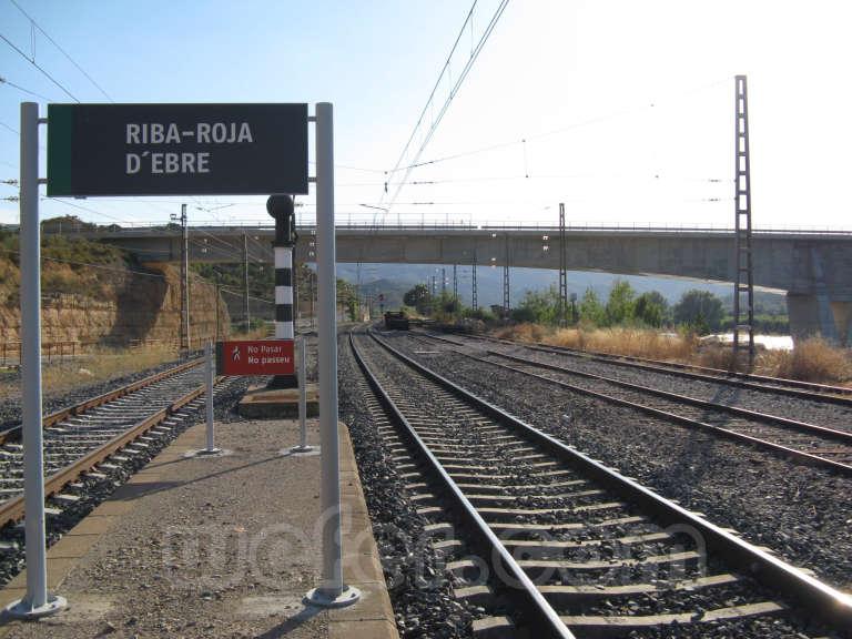 Renfe / ADIF: Riba-roja d'Ebre - 2010
