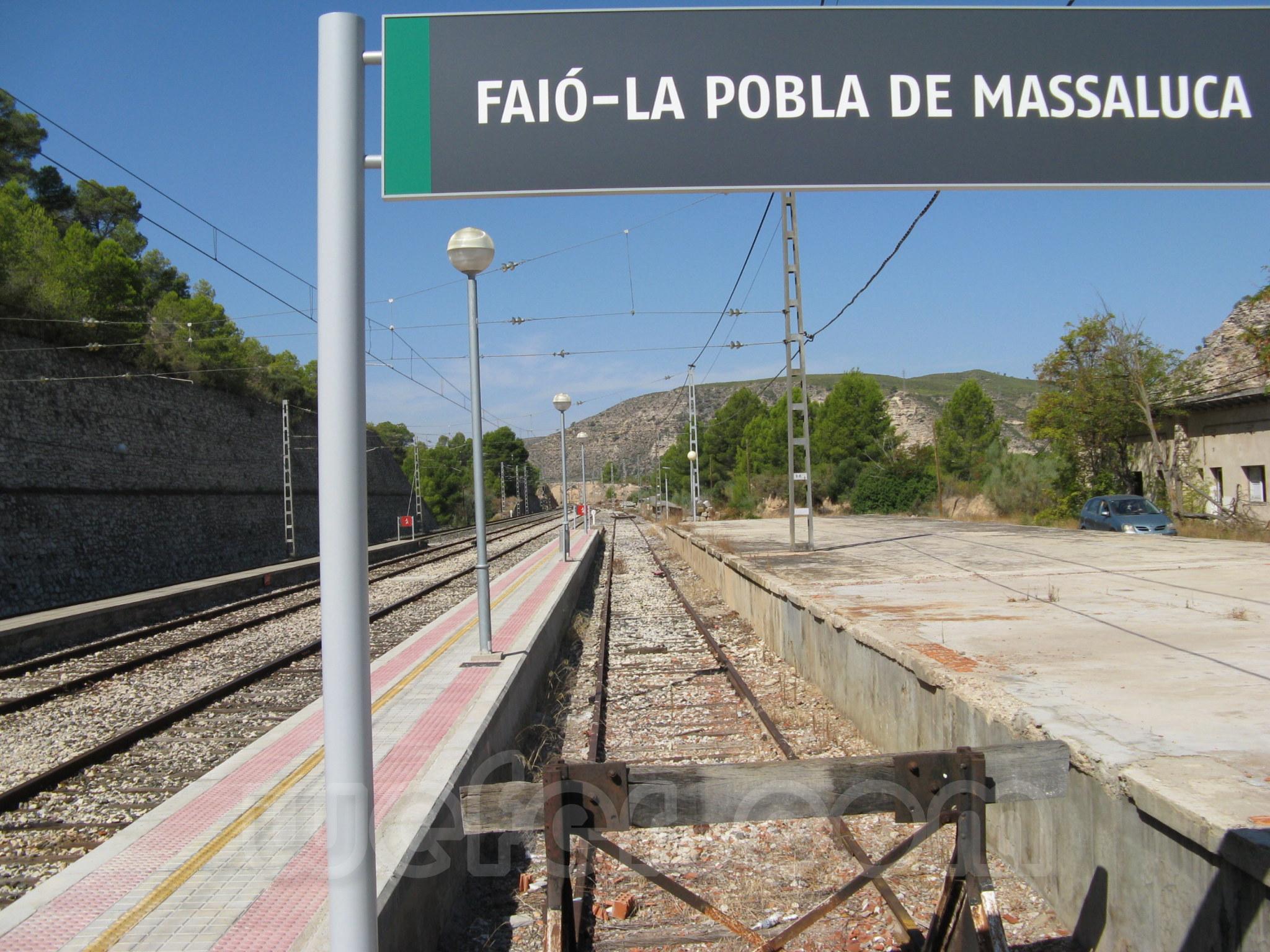 Renfe / ADIF: Faió - La Pobla de Massaluca