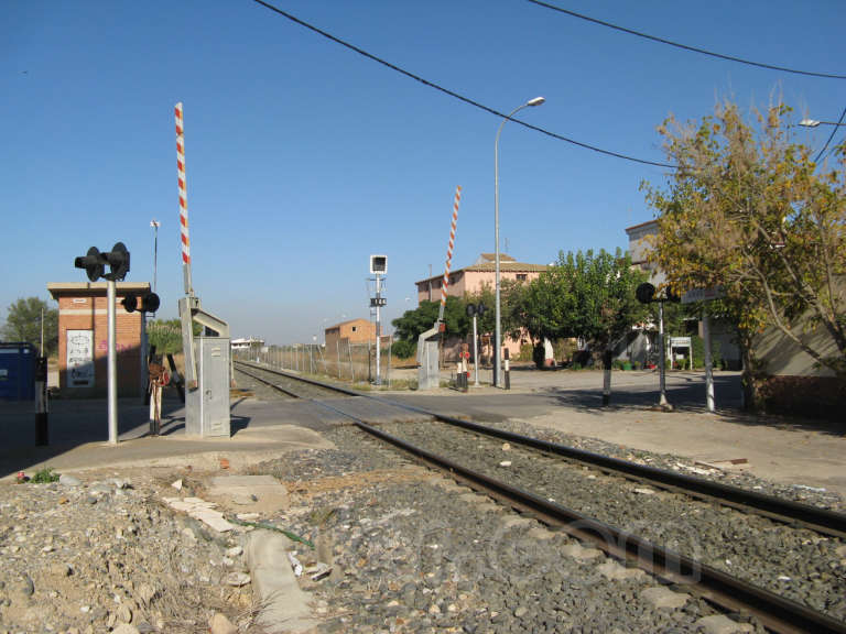 FGC: estación Térmens - 2011