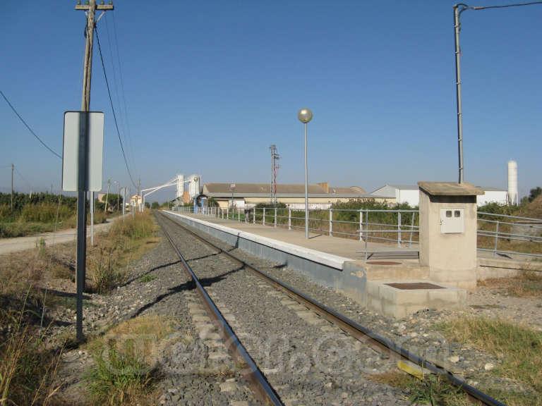 FGC: estación Vallfogona de Balaguer - 2011