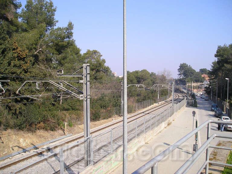 FGC La Floresta - Febrer 2004