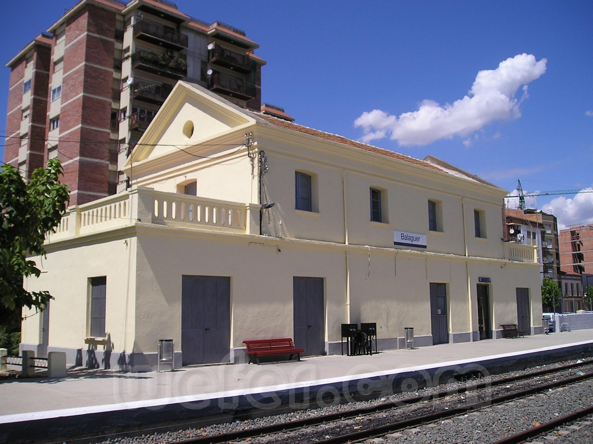 FGC: estación Balaguer