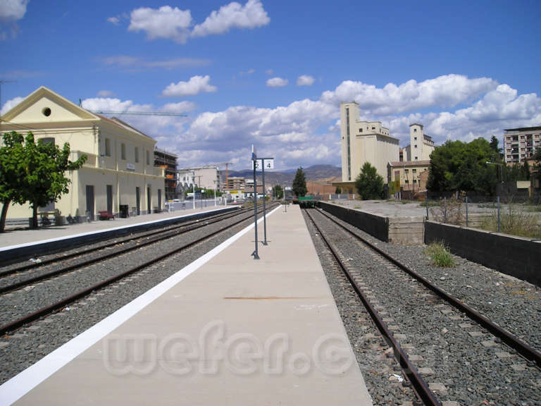 FGC: estación Balaguer - 2006