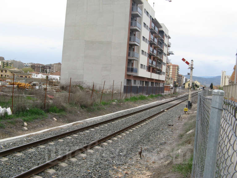 FGC: estación Balaguer - 2010