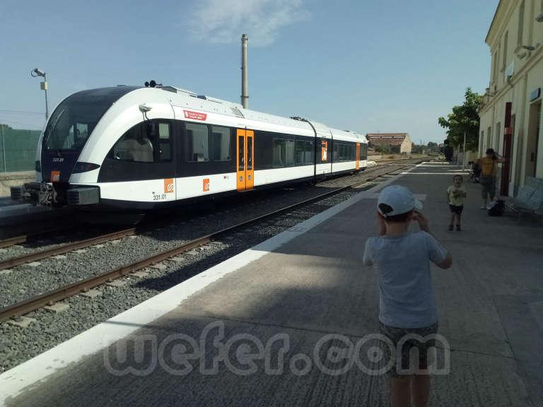 FGC: estación Balaguer - 2018