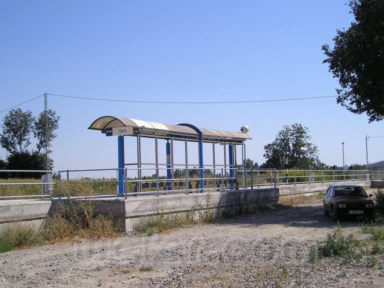 FGC: estación Gerb - 2007