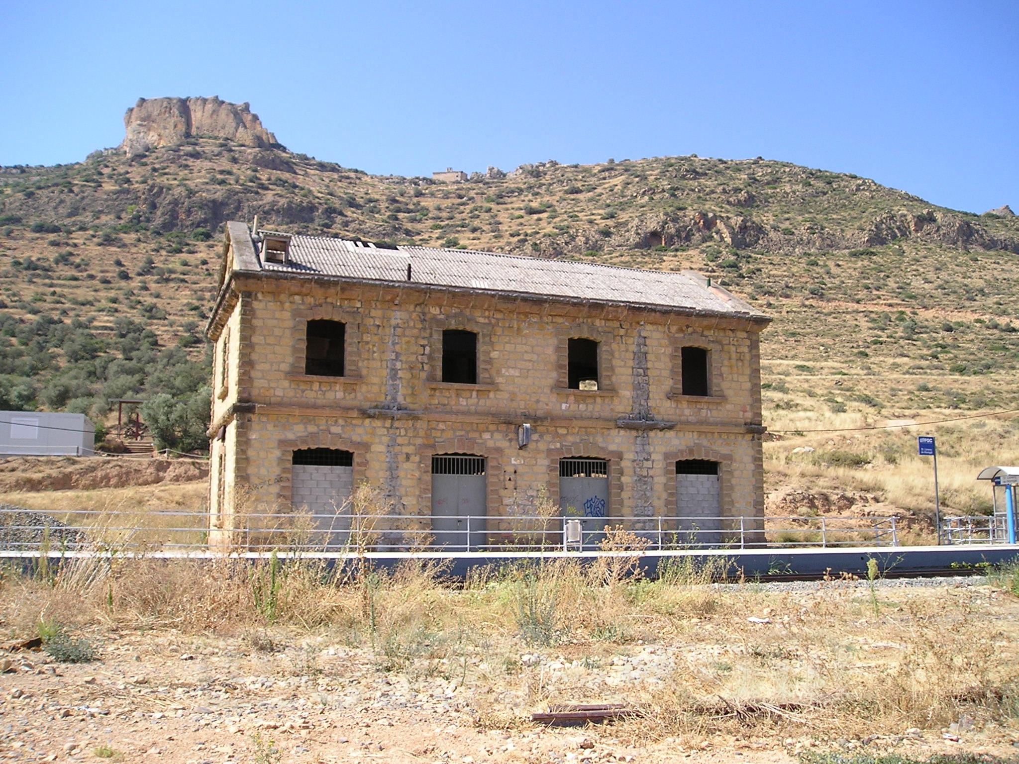 FGC: estación Sant Llorenç de Montgai