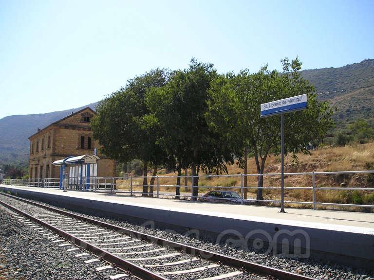 FGC: estación Sant Llorenç de Montgai - 2007