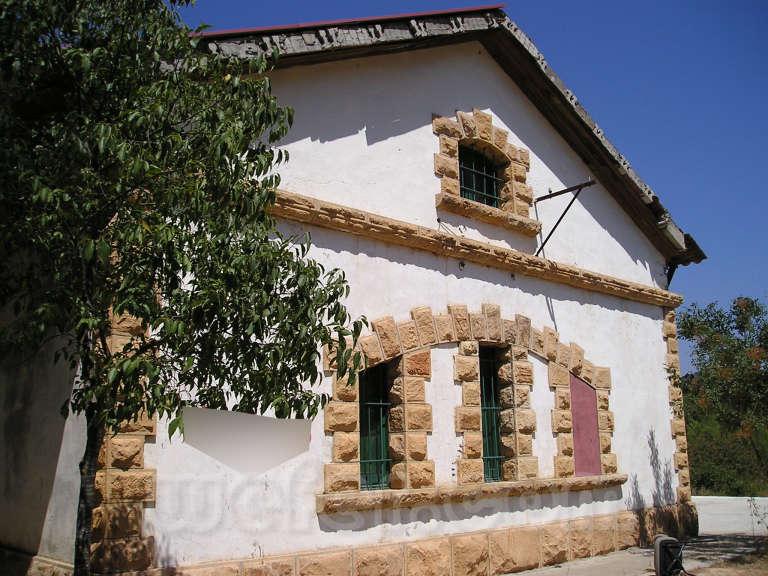 FGC: estación Vilanova de la Sal - 2007