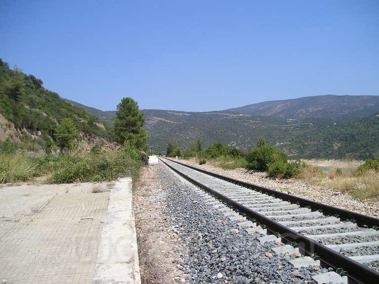 FGC: estación Santa Linya - 2007