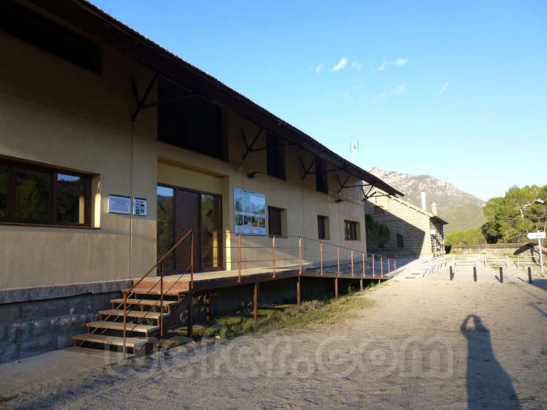 FGC: estación Àger - 2013
