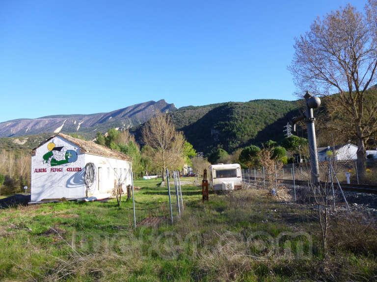 FGC: estación Cellers-Llimiana - 2013