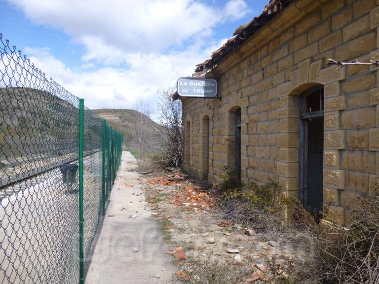 FGC: estación Guàrdia de Tremp - 2013