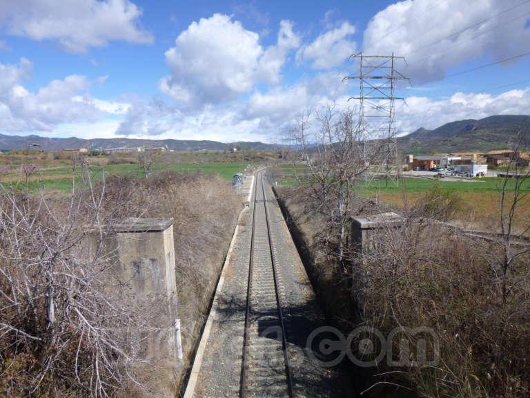 FGC: estación Palau de Noguera - Talarn - 2013