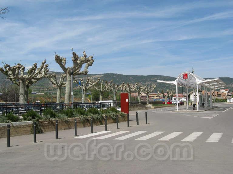 FGC: estación Tremp - 2008