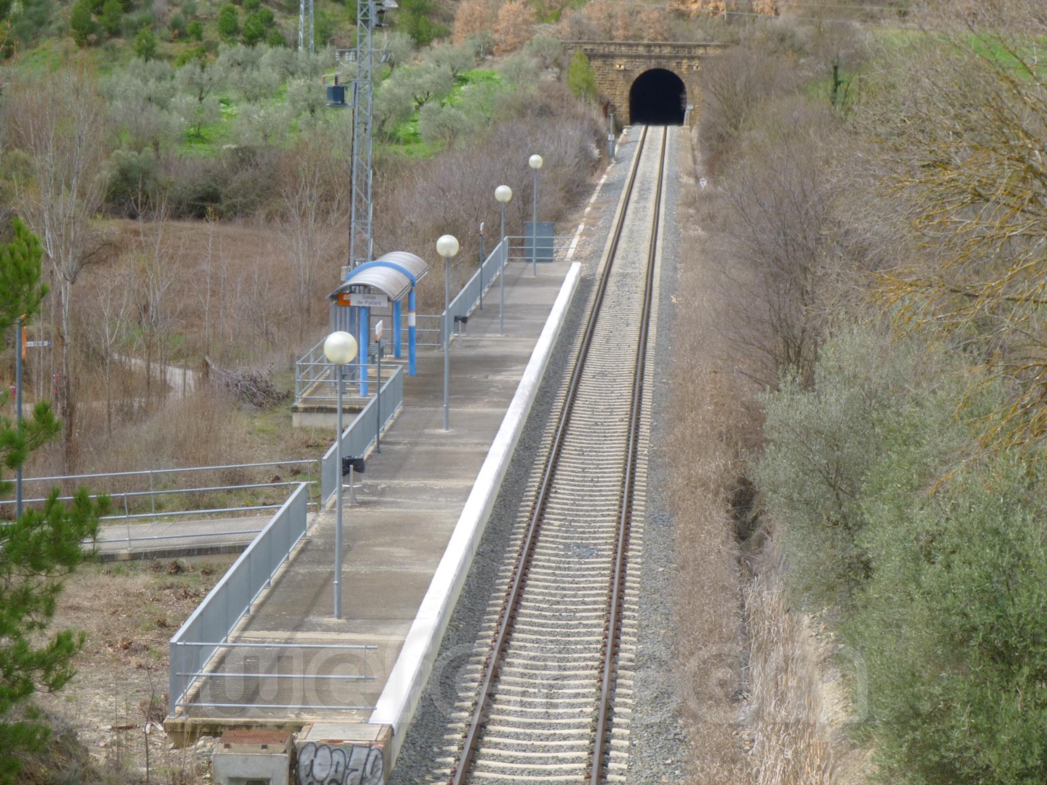FGC: estación Salàs de Pallars