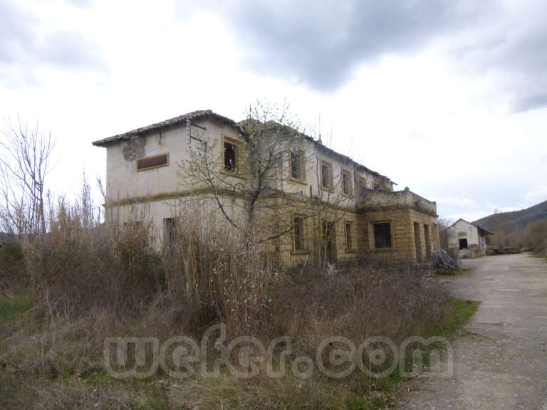 FGC: estación Salàs de Pallars - 2013