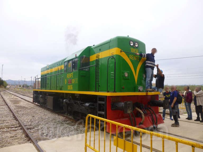 Museo del ferrocarril de Móra la Nova - 2015