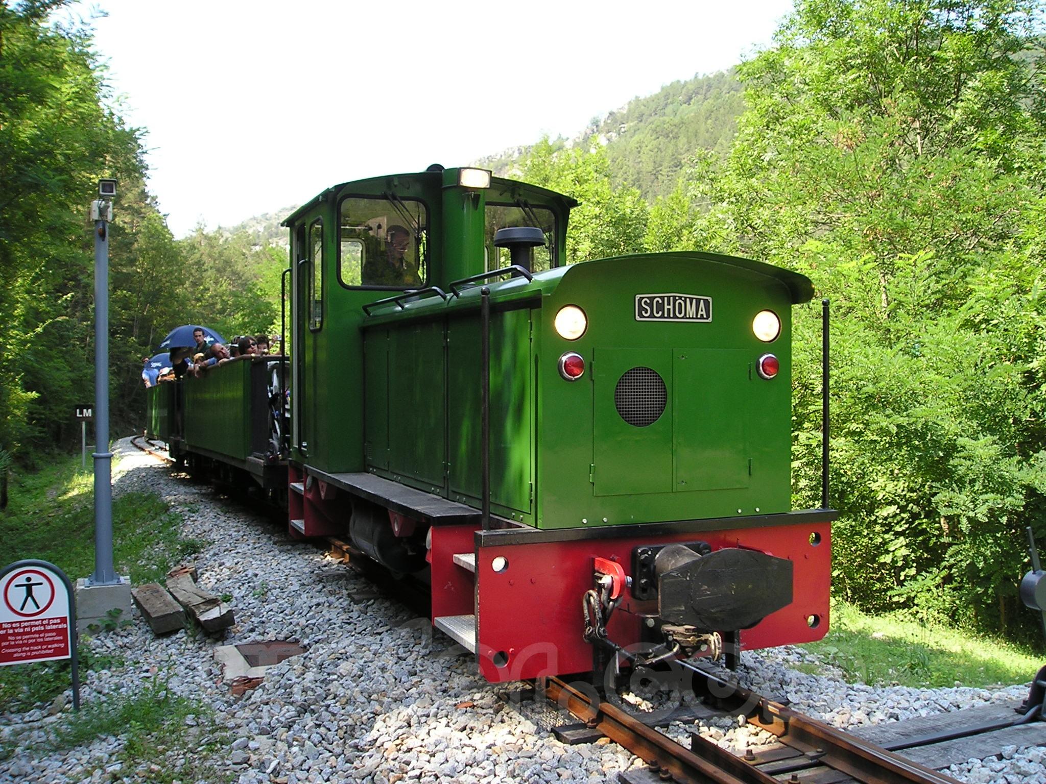 Museo del ferrocarril de La Pobla de Lillet