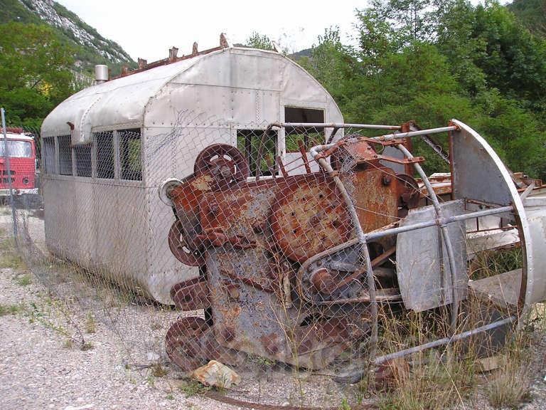 Museo del ferrocarril de La Pobla de Lillet - 2004